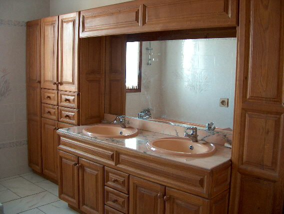Idee vanite salle de bain avec des id es - Vanite de salle de bain pas cher ...